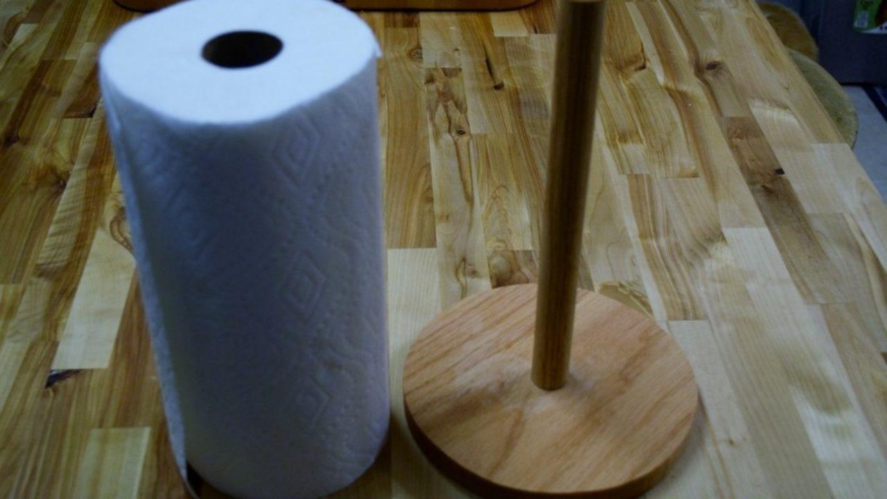 Make A Paper Towel Holder Woodlogger