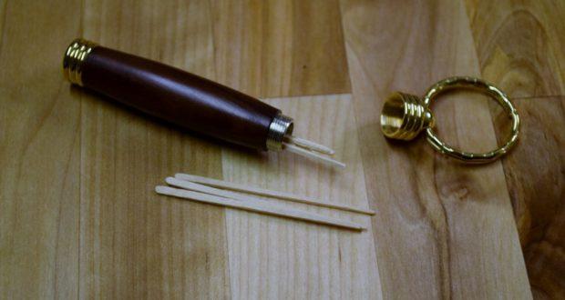 Turned Toothpick Holder
